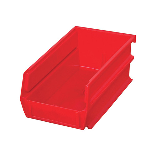 Triton Products LocBin Hanging and Interlocking Bins  24-Pk., Red, 5 3/8-In.L x 4 1/8-In.W x 3-In.H, Model# 3-210R