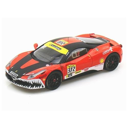 Ferrari 458 Kessel Racing LM 2011 Elite 1/43 Red/Black