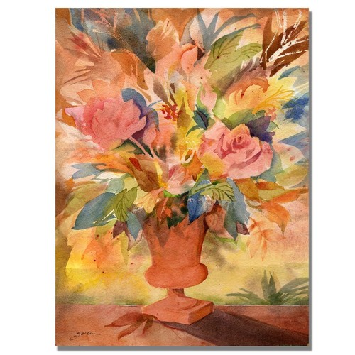 Trademark Global Sheila Golden 'Traditional Bouquet II' Canvas Art [Overall Dimensions : 18x24]