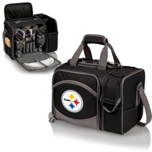 Picnic Time Pittsburgh Steelers Black Manhattan Cocktail Case