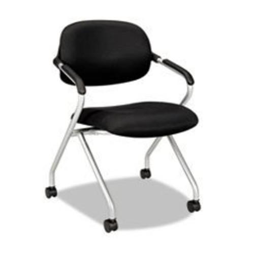 BSXVL303MM10 - Basyx VL303 Mesh Back Nesting Arm Chair