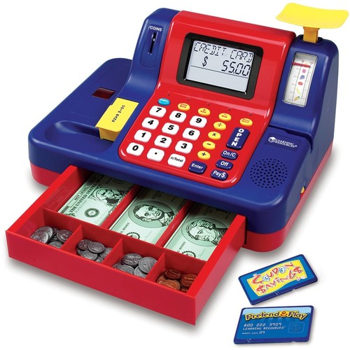 Learning Resources 1869A964 The Best Children's Cash Register.
