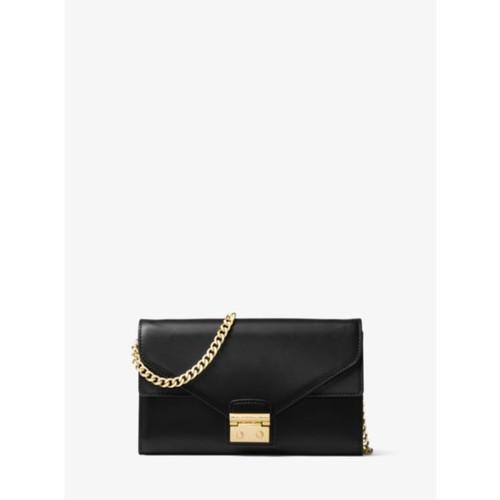 Sloan Leather Chain Wallet