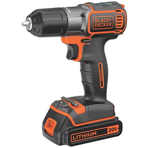 Black & Decker 20V MAX Lithium Drill/Driver with AutoSense Technology