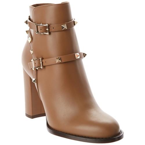 Valentino Rockstud Leather Bootie