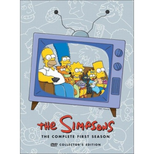 The Simpsons: The Complete First Season (3 Discs) (dvd_video)