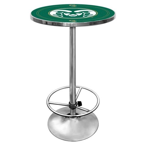 Trademark Colorado State University Chrome Pub/Bar Table
