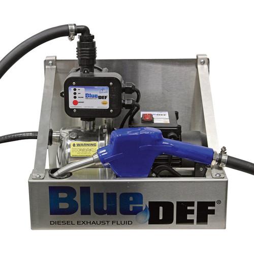 BlueDEF SureStop DEF Pump  3/4 HP, 10Ft. Dispenser Hose, Model# DEFTBCSS10