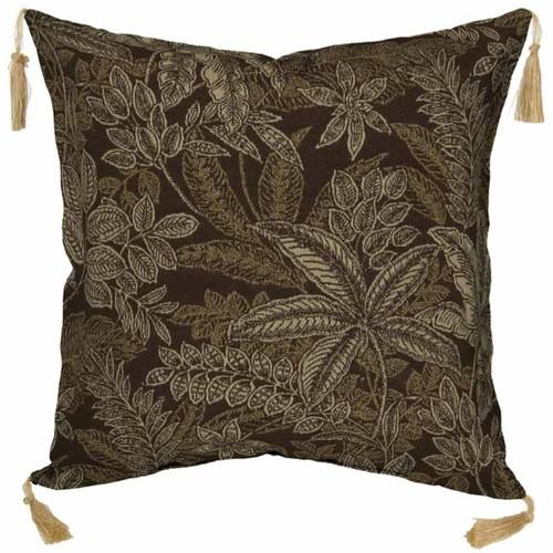 Bombay Outdoors Palmetto Floral 2-piece Reversible Throw Pillow Set