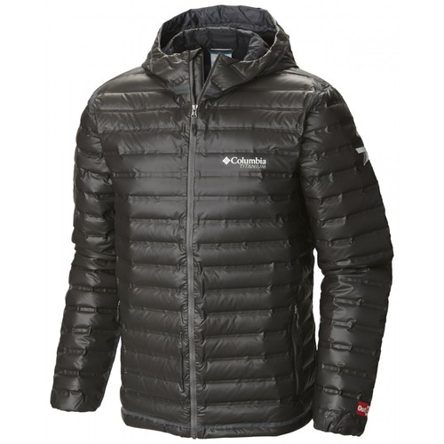 Columbia OutDry Ex Gold Down Hooded Jacket - Men's
