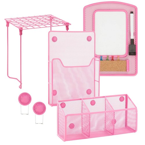 Honey-Can-Do Pink Back to School Kit 2