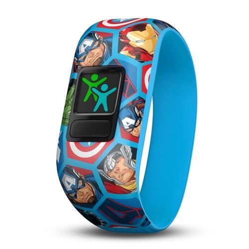 Garmin vivofit jr. 2 Stretchy Activity Tracker - Avengers
