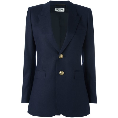 SAINT LAURENT Two Button Blazer