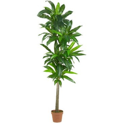 Nearly Natural 6' Dracaena Silk Plant (Real Touch)