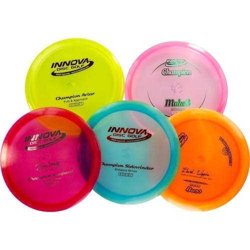 Innova Disc Golf Champion 5-Disc Set