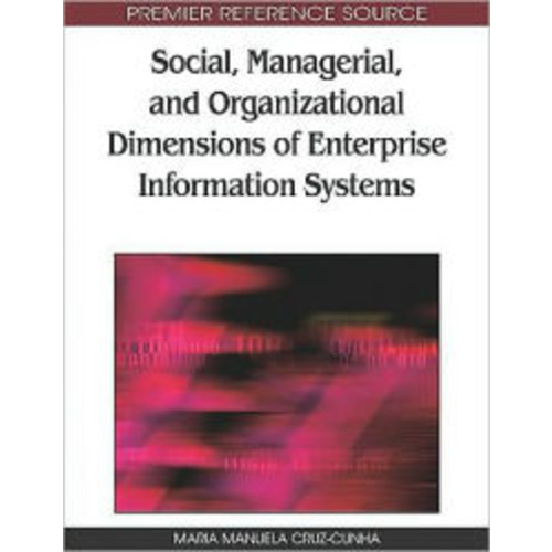 Social, Managerial, And Organizational Dimensions Of Enterprise Information Systems