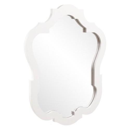 Elizabeth Austin Ashbury Wall Mirror - White - 32W x 42H in.