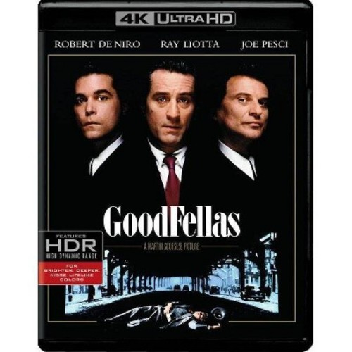 Goodfellas (4K/UHD + Blu-ray + Digital)