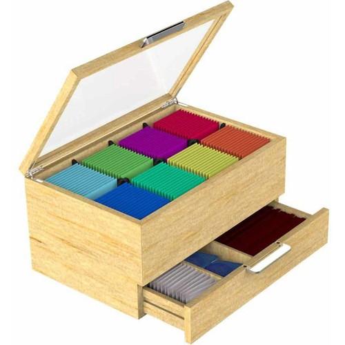 Mind Reader EMS Mind Tea Bag Organizer Box