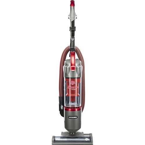 Dirt Devil - Swerve HEPA Bagless Upright Vacuum - Red