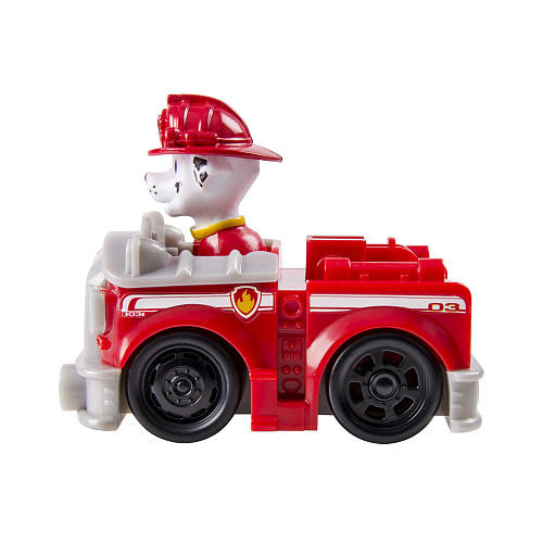 Paw Patrol Racers Marshall Figure and Vehicle