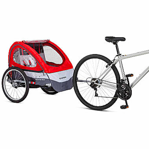Schwinn Trailblazer Alloy Double Bicycle Trailer JCPenney