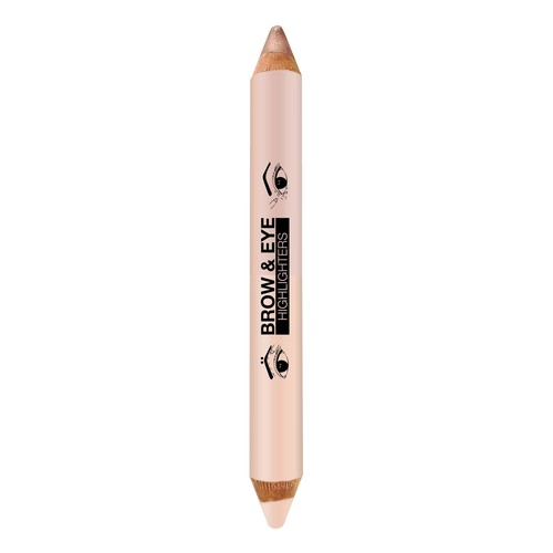Brow & Eye Highlighters - Matte Cream / Luminous Lift