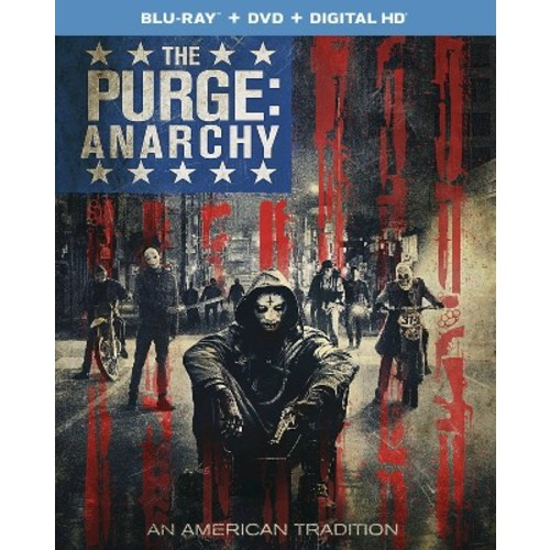 The Purge: Anarchy [2 Discs] [Includes Digital Copy] [UltraViolet] [Blu-ray/DVD] COLOR/WSE DHMA/DTS/DD2/DD5.1