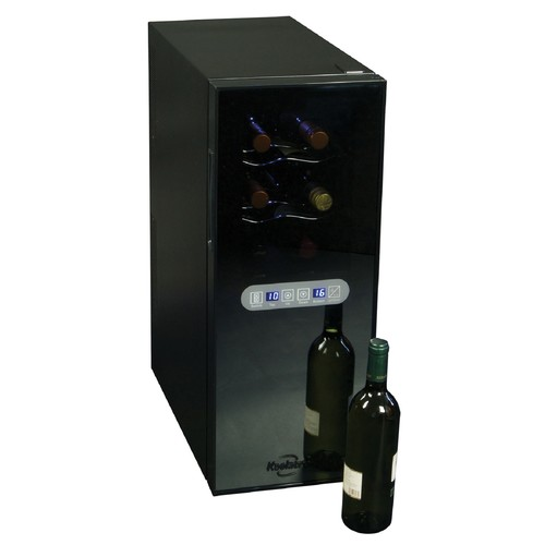 Koolatron WC12 DZ 12 Bottle Dual Zone Wine Cellar