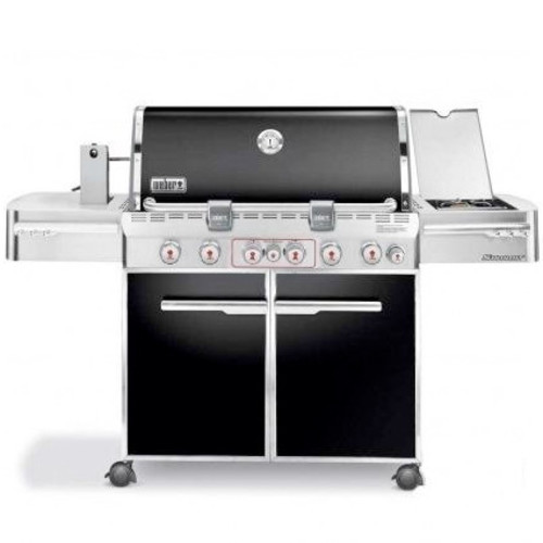 Weber Summit E-670 6-Burner Propane Grill with Rotisserie & Side Burner