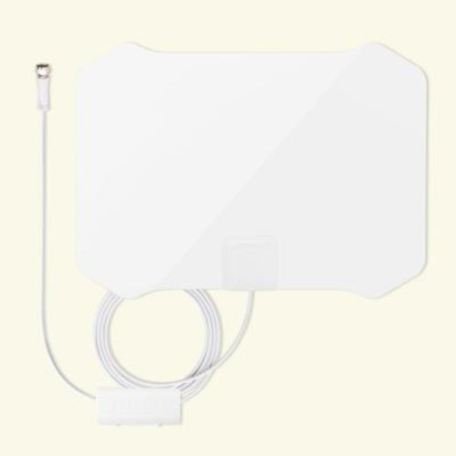Antop Paper Thin Indoor HDTV Antenna with Table Stand 35 Mile