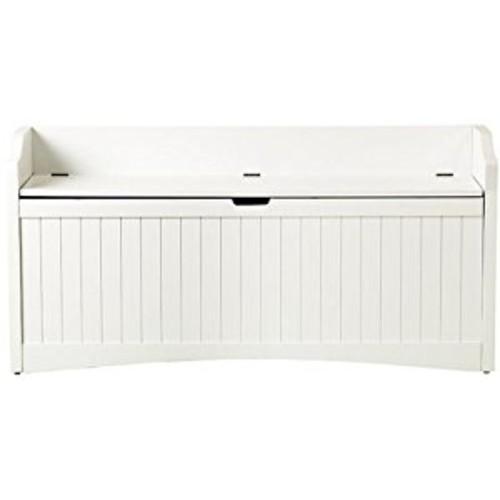 Madison Lift top Storage Bench, LARGE, WHITE [White, 48