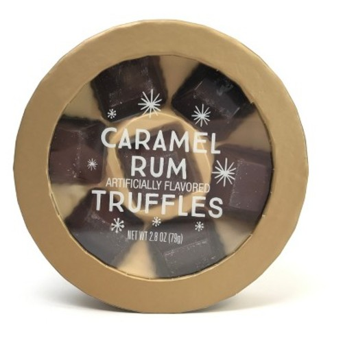 Christmas Chocolate Champagne Truffles - 2.8oz