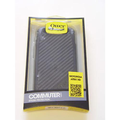 OtterBox Commuter Series Case for Motorola Atrix HD - Retail Packaging - Black [Black, Standard Packaging]