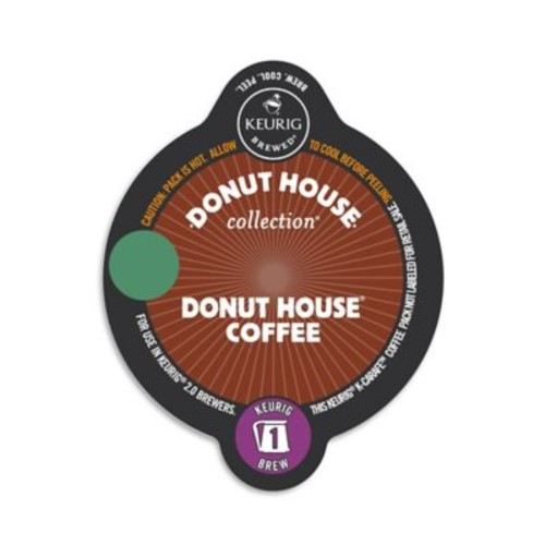 Keurig K-Carafe Pack 8-Count Donut House Collection Donut House Light Roast Coffee
