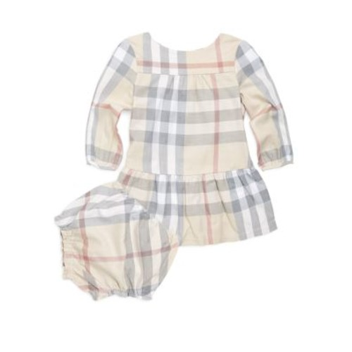 Baby's Two-Piece Kloey Cotton Dress and Bloomers Set