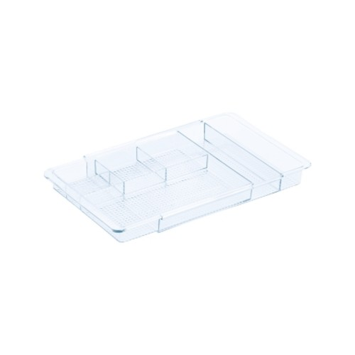 InterDesign Expandable Drawer Organizer 1.25 in. H x 7.75 in. W x 11.25 in. D(38280)