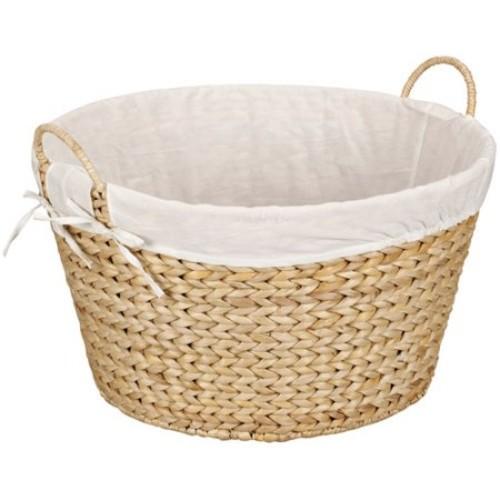 Household Essentials Banana Leaf Round Laundry Basket