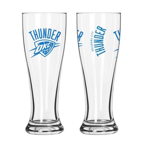 Oklahoma City Thunder NBA 2-Pack Gameday Pilsner Set