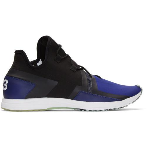 Black & Blue Arc RC Sneakers