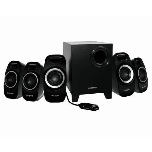 Creative Inspire T6300 5.1 Speaker System - 50 W RMS 51MF4115AA002