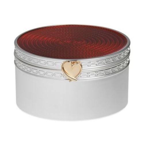 Vera Wang Wedgwood Treasures with Love Heart Box in Red