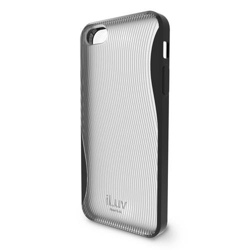 iLuv ICA7H328BLK Twain Two-Part Dual Protection Case for Apple iPhone 5 - 1 Pack - Retail Packaging - Black [Black, Standard Packaging]