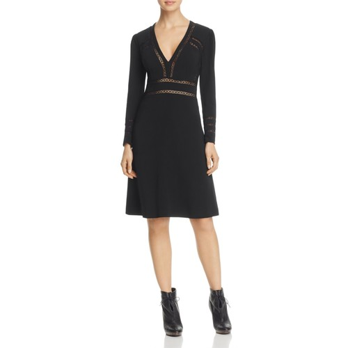 BURBERRY Fran Lace Inset Dress