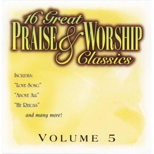 16 Great Praise And Worship Classics CD