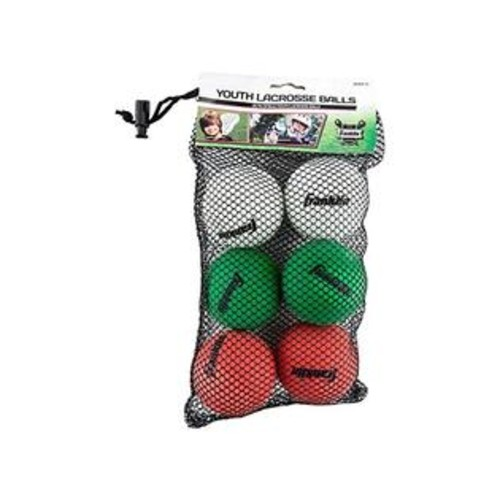 Franklin Sports Youth Lacrosse Balls (6-Pack)