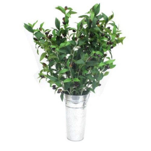 Dalmarko Designs Olive Branches Tree in Decorative Vase