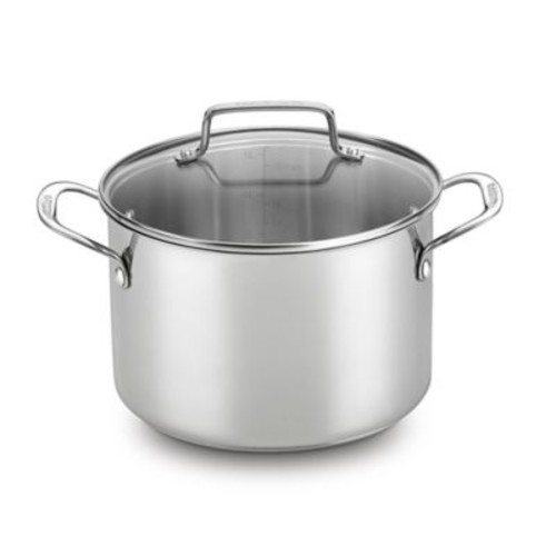 Cuisinart Chef's Classic Stainless Steel 5.75 qt. Covered Soup Pot