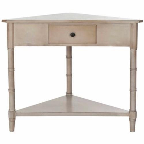 Safavieh Gomez Grey Corner Table