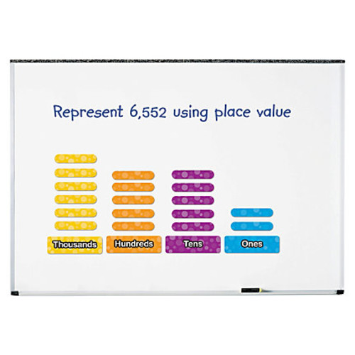Learning Resources Giant Magnetic Place Value Set - Theme/Subject: Learning - Skill Learning: Number Recognition, Grouping, Addition, Subtraction - 17 Pieces - 6+